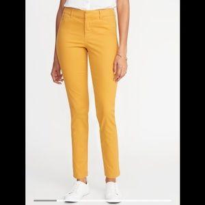 Old Navy Yellow Pixie Pants